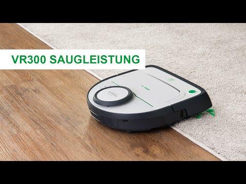 Wissen | VR300 Saugroboter: Saugleistung
