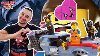Папа Роб собирает набор LEGO Movie 2. Побег Эммета и Дикарки на багги. Часть 2.