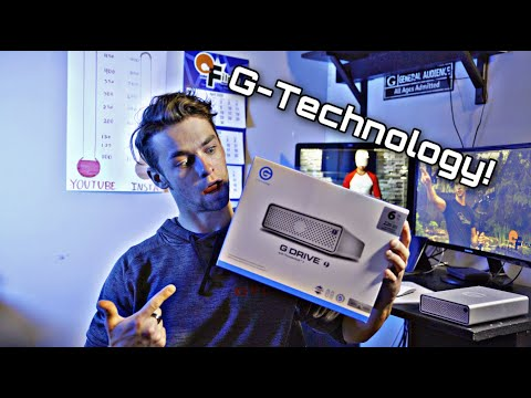 Storage Solution for Content Creators!? EVERY CREATOR NEEDS ONE* (G-Drive)