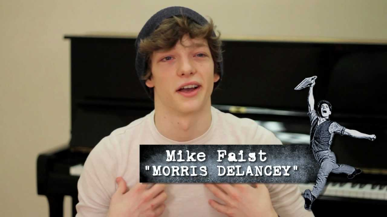 Meet the Newsies: Morris Delancey (Mike Faist) - YouTube
