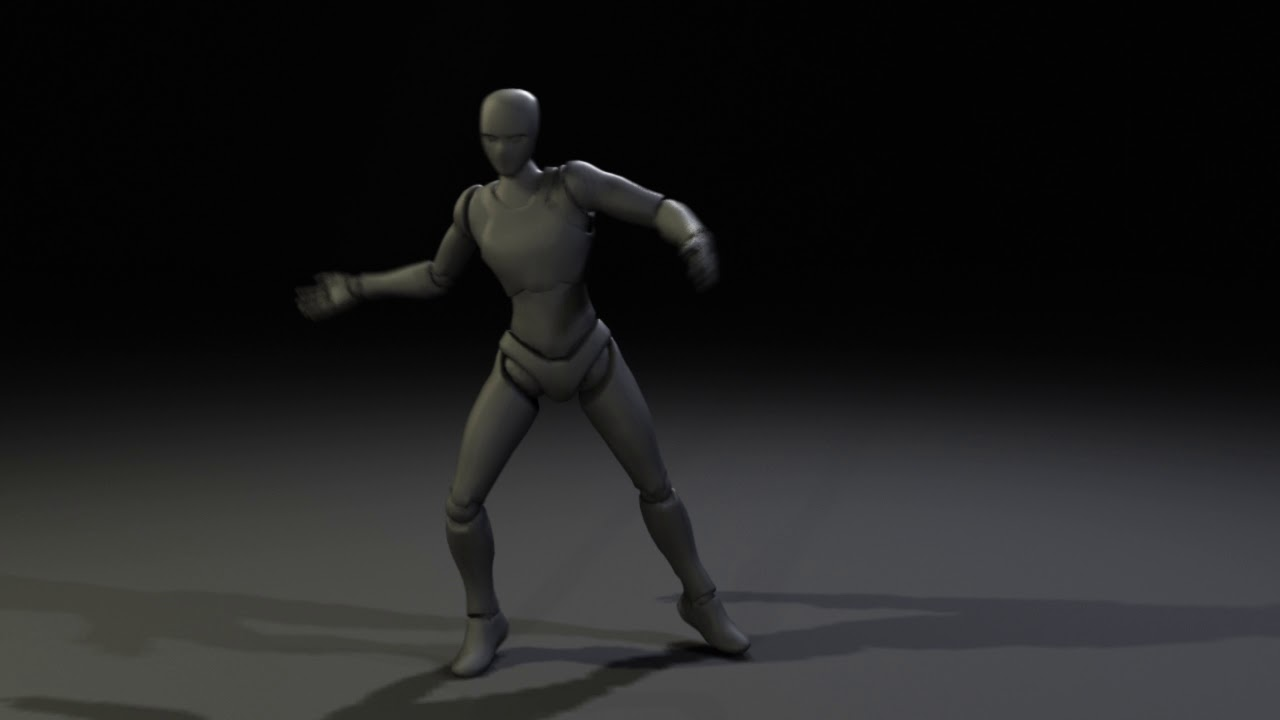 Dance Motion Capture Work