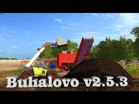 18+●Карта Buhalovo V2.5.3●Farming Simulator 17●Лето....