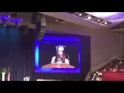 Jack E Singley Academy salutatorian speech