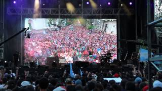 Levantamos tu nombre en alto + Estás Aquí - Julio Melgar // Argentina Adora a Jesús - EN VIVO (2)