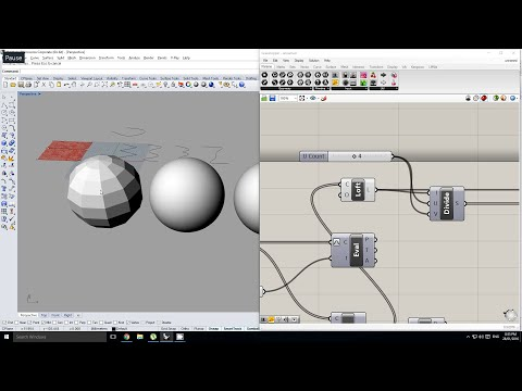 Rhino/Grasshopper - Understanding the fundamentals of NURBS Geometry