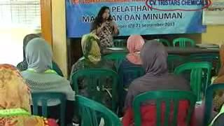 pelatihan makanan dan minuman di desa lebaksari wonorejo pasuruan PNPM dan TPK kab pasuruan