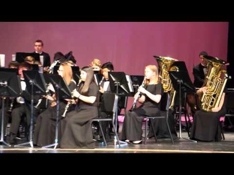 "GHS Pre-UIL Concert 2016 - Honors Band ""Marche Diabolique"""