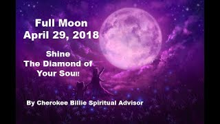 Full Pink Moon April 29, 2018