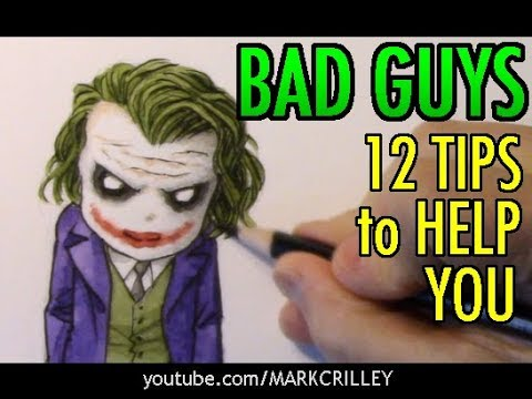 BAD GUYS: 12 Tips to Help You [Chibi Joker]