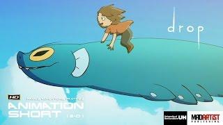 "2D Animation Short Film ""DROP"" Adventure Animation by University of Hertfordhsire"