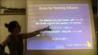 Chapter 22 (Organic Chemistry) - Part 1