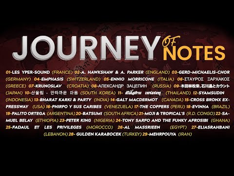 Journey of Notes (trip in groovy pop funky extremely rare music of the world)