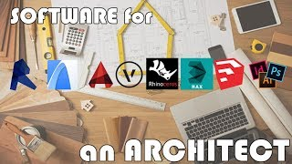 Software For Architect: Most Popular Software In Architecture Firms  Design, Cad/bim, 3d Software