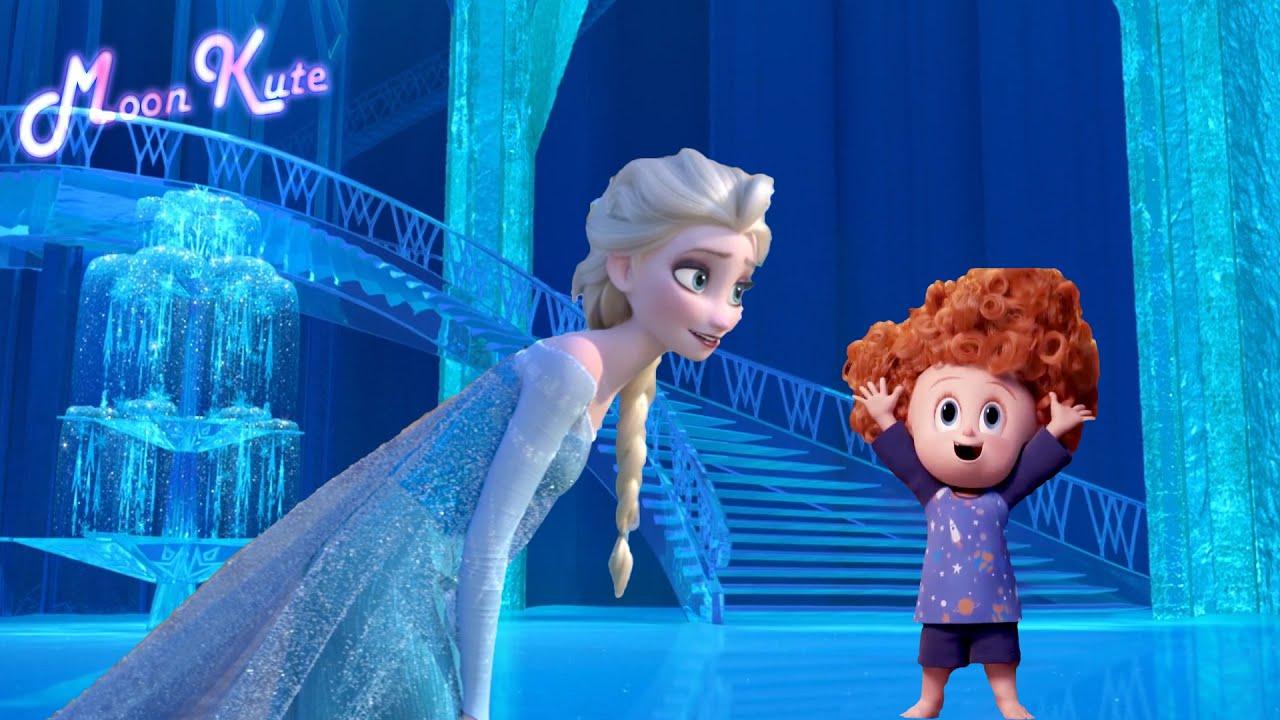 If Elsa meets Dennis Hotel Transylvania ?