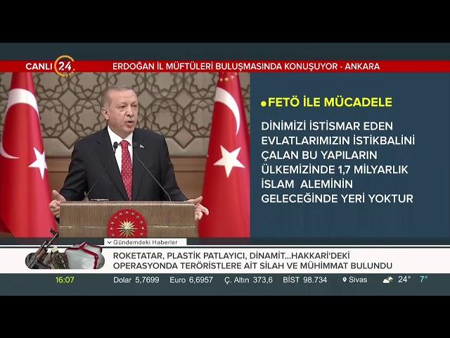 Cumhurbaşkanı Erdoğan: Bu dönemde din görevlilerinin önemi artmıştır