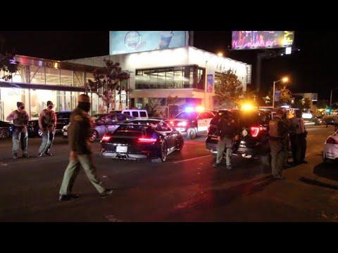 LAPD SHUTS DOWN SUPERCAR MEET! Mclaren Speedtail Appearance!