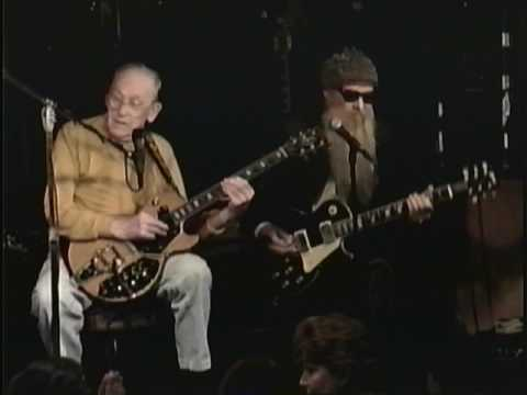 les-paul-with-zz-top