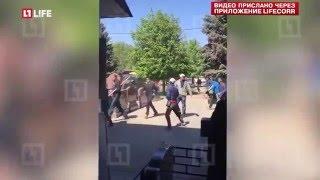 В Москве 400 человек устроили бойню на кладбище
