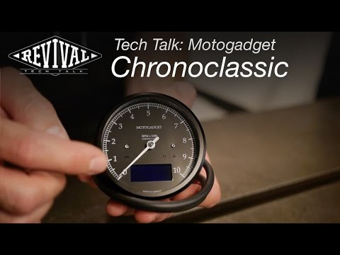 Motogadget Chronoclassic - Revival Cycles Tech Talk