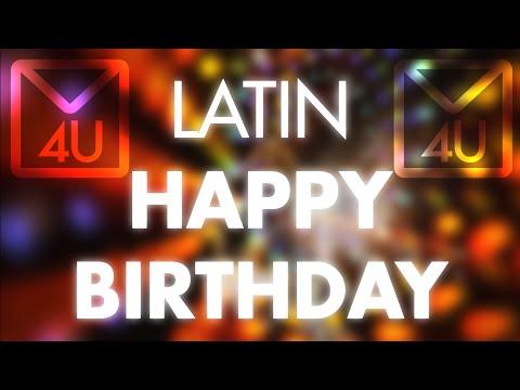 Latin Happy Birthday