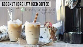Coconut Horchata Iced Coffee