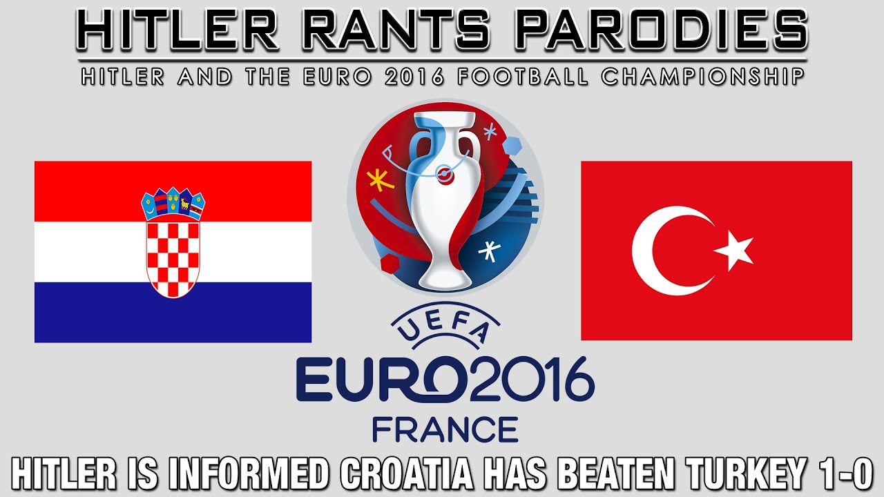 Hitler is informed Croatia has beaten Turkey 1-0