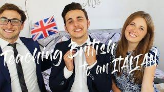 Teaching British English to an Italian