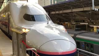 2018年 1月12日 東京駅 新幹線E4系