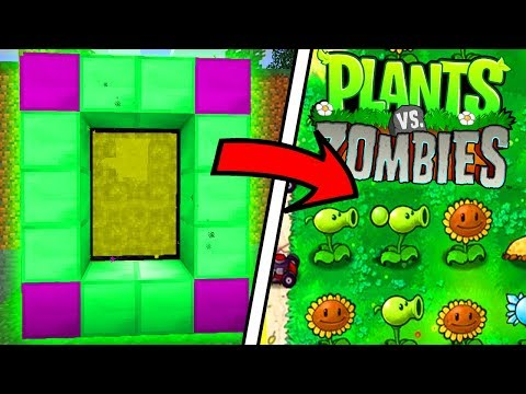Thumbnail: HOW TO MAKE A PORTAL TO PLANTS VS ZOMBIES DIMENSION - MINECRAFT PLANTS VS ZOMBIES
