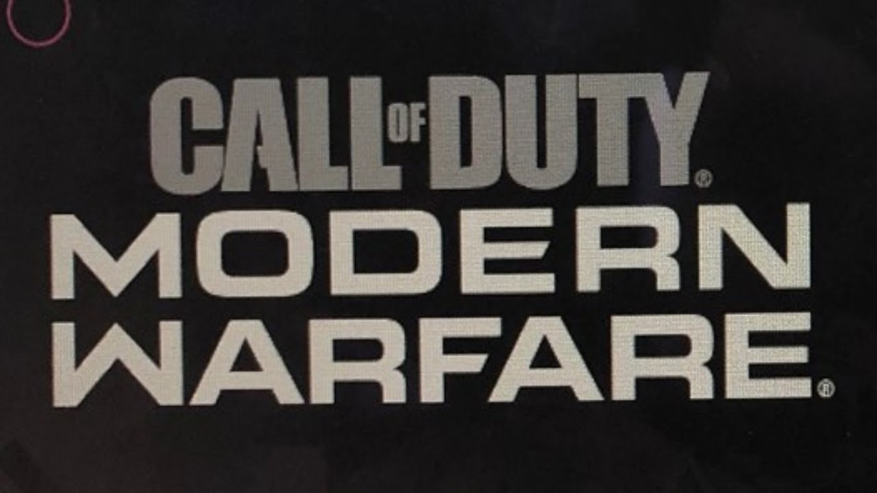 call of duty logo modern warfare logo