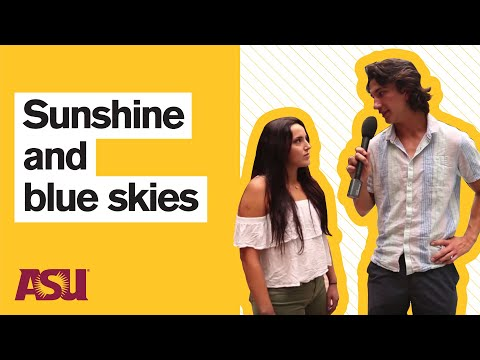 You Asked: What's winter weather like at Arizona State University (ASU)?