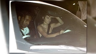 Kendall Jenner Spotted Hanging With A$AP Rocky in LA