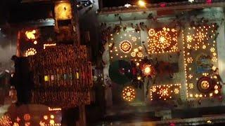 Vijayawada: Devotees light diyas as part of 'Koti Deepotsavam'