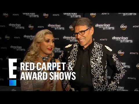 "Rick Perry Exits the ""DWTS"" Stage 