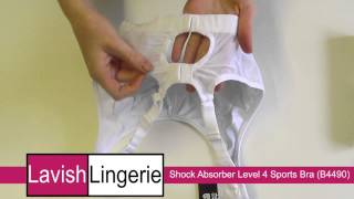 Shock Absorber Level 4 Sports Bra (B4490) White