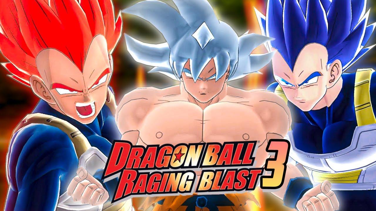 FINALMENTE!! DRAGON BALL RAGING BLAST 3 AGORA É REALIDADE
