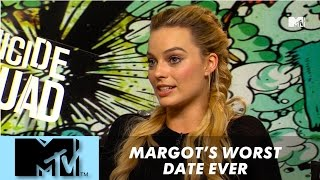 Margot Robbie's worst date ever l Suicide Squad