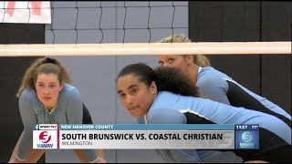Coastal Christian volleyball takes care of business against South Brunswick