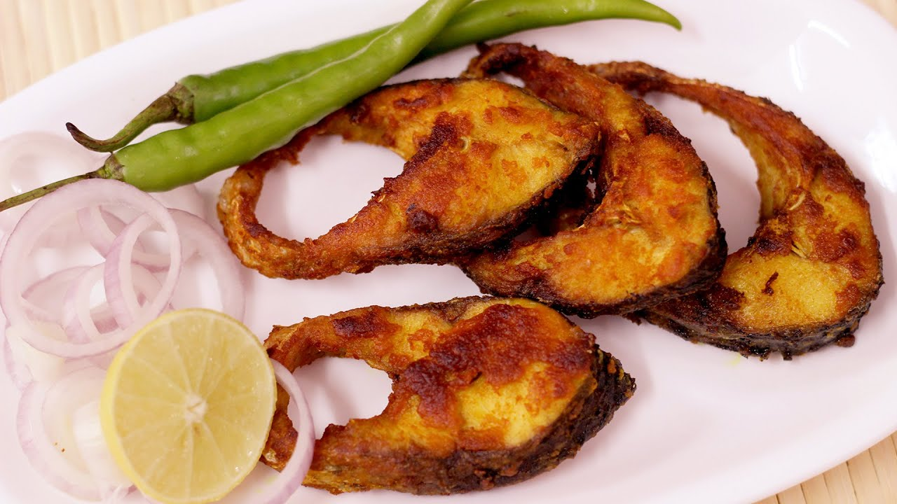 Simple and Easy Fish Fry-Rohu Fish Fry-Bengali Style Rui ... - photo#17