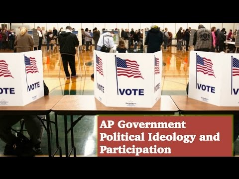 AP Government: Political Ideology and Participation