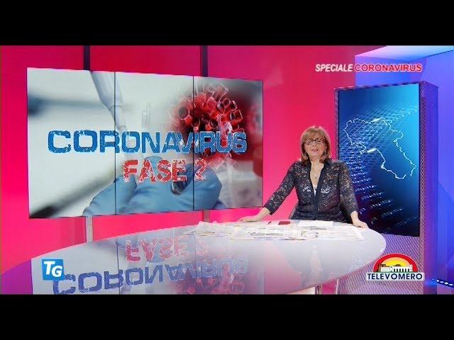 SPECIALE CORONAVIRUS TELEVOMERO NOTIZIE 28 MAGGIO 2020 edizione delle 20 00