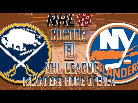 NHL 18 - CNHL - New York Islanders Home Opener Vs Sabres