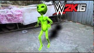 Phillip Morgan - WWE 2K16 - Marcianito 100% Real No Fake Entrance - PS3