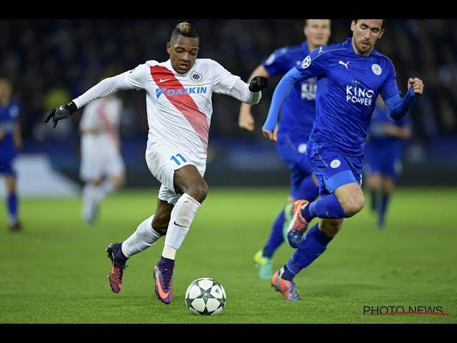 2016-2017 - Leicester City - Club Brugge - GOAL José Izquierdo