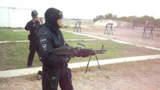 Policía Federal Ametralladora M60