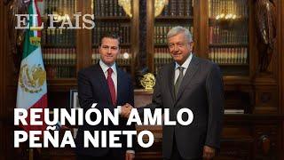 Reunión Enrique Peña Nieto con Andrés Manuel López Obrador