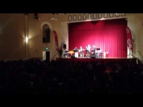 """""""What is Jazz"""" at Pacific Grove Middle School, 11.4.15"""