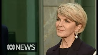 Julie Bishop doesn't rule out a return to the ministry