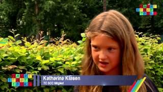 Sommer-Camp des Tennisclubs vom SCC für Berliner Kinder