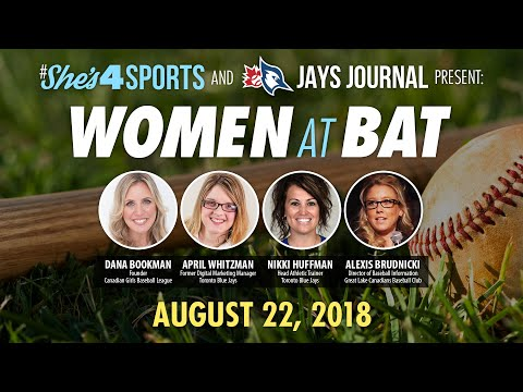 She's4Sports and Jays Journal Present: Women at Bat